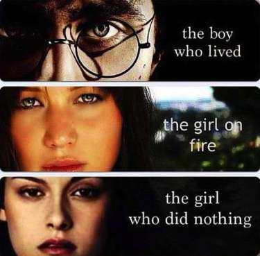 Harry Potter Lord Of The Rings The Hunger Games Jennifer Lawrence