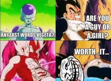 The Best Dragon Ball Z Memes Funny Dbz Jokes