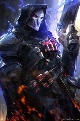 The 32 Greatest Overwatch Fan Art Masterpieces Ever Created Fear The Reaper