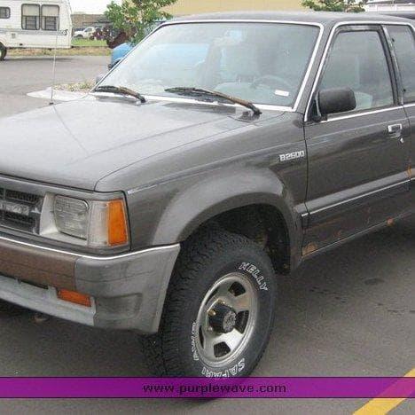1989 Mazda B2600i 4x4 | Mazda Cars