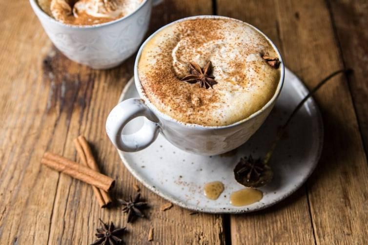 pumpkin maple latte