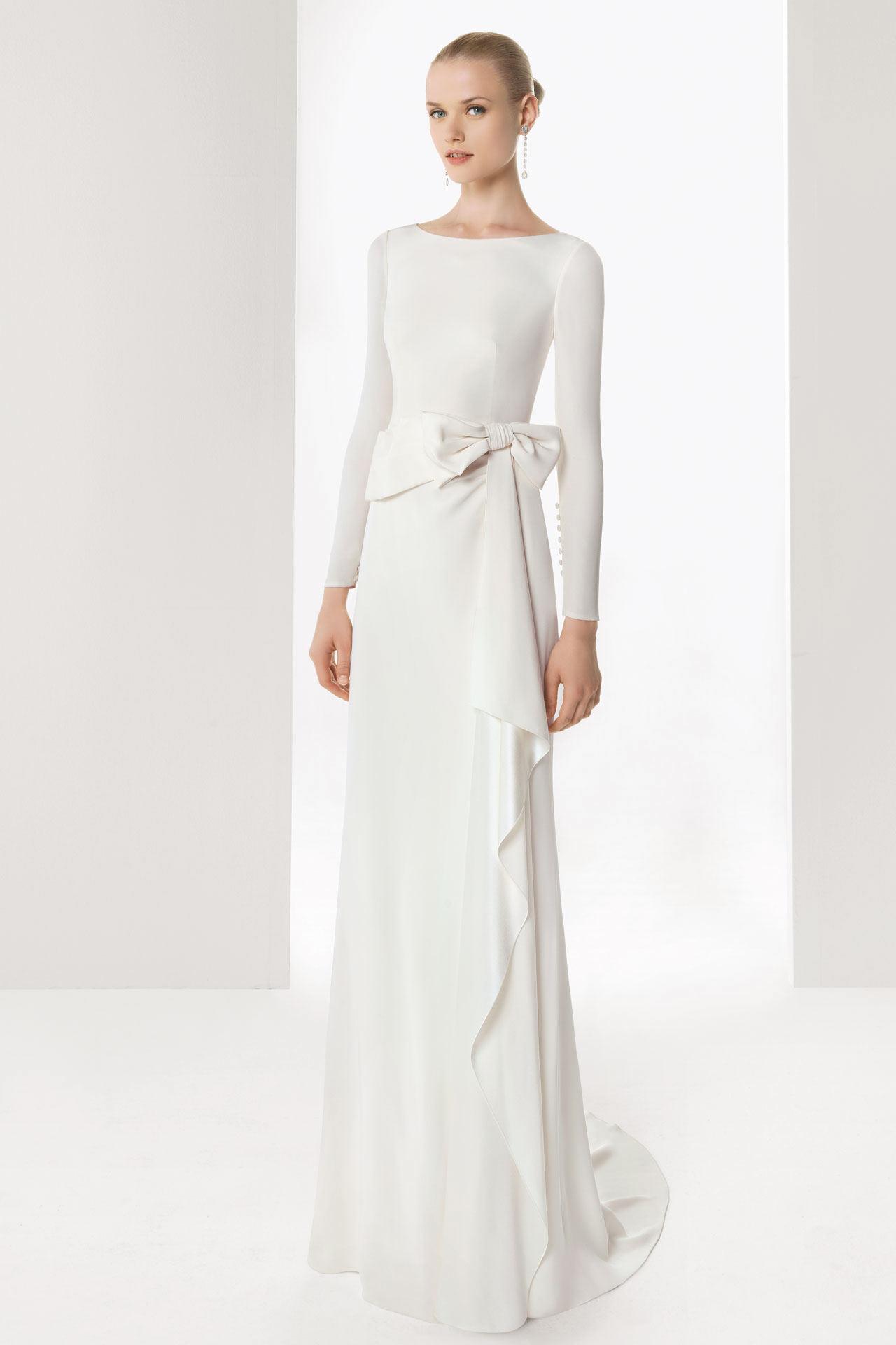 Brautkleider für eine Reife Braut oder die zweite Hochzeit ...