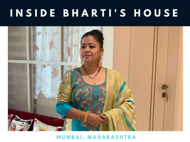 Enter the lavish home of Bharti Singh in Mumbai