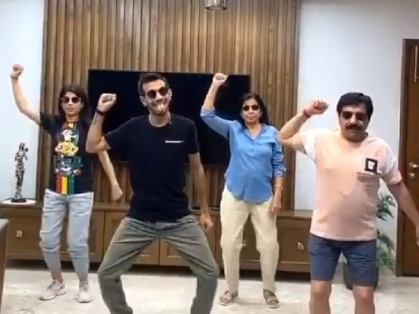 WATCH: After Team India, Yuzvendra Chahal choreographs hilarious dance  moves for his family   Cricket News