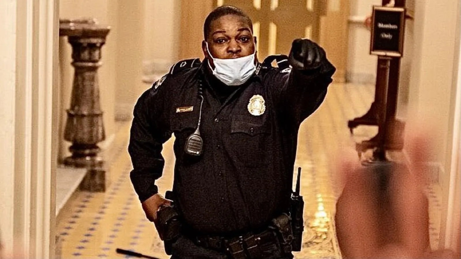 Eugene Goodman| 'The man who saved the Senate': Capitol Hill cop lauded by  netizens for diverting mob from Senate chamber | Trending & Viral News