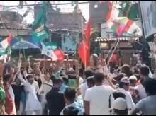 اتر پردیش: پاکستان کے حق میں نعرے لگانے پر تین افراد گرفتار