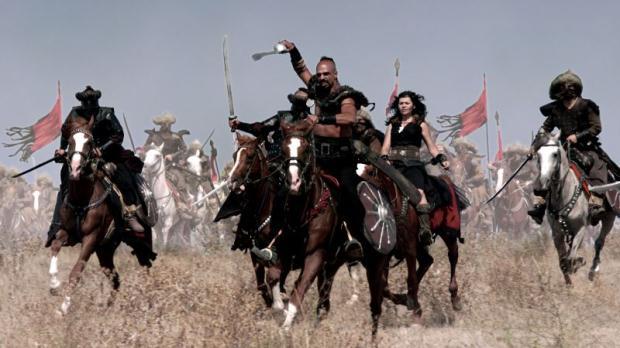karaoğlan filmi savaş sahnesi