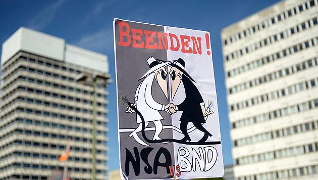 """Gauck sieht """"Freundschaft mit den USA in Gefahr"""" (Bild: EPA)"""