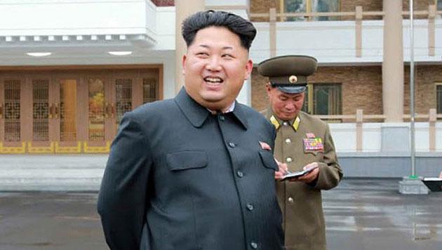 Kim Jong Un soll Friedenspreis erhalten (Bild: APA/EPA/Rodong Sinmun)
