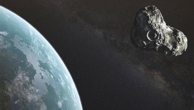 Spät entdeckt: Asteroid verfehlt Erde nur knapp (Bild: thinkstockphotos.de (Symbolbild))