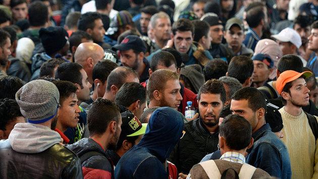31-köpfige Familie kämpft um Asyl in Deutschland (Bild: APA/AFP/CHRISTOF STACHE)