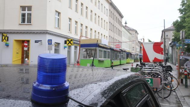 Passantin in Wien erschlagen: Kenianer verhaftet (Bild: APA/HERBERT P. OCZERET)