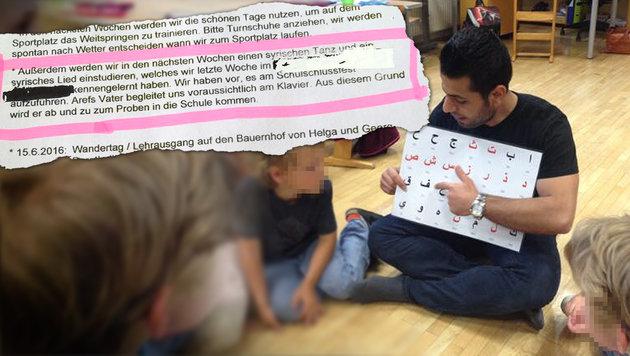 """Syrische Lieder in Volksschule: """"Das geht zu weit"""" (Bild: """"Krone"""")"""