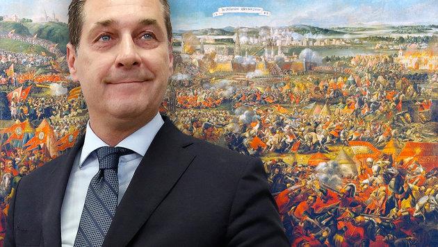 Türkenbelagerungs-Ende: FPÖ feiert 333. Jahrestag (Bild: AFP/Dieter Nagl, Wikipedia)