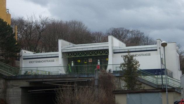 Die S-Bahn-Station Krottenbachstraße in Wien-Döbling (Bild: Wikipedia.com/My Friend)