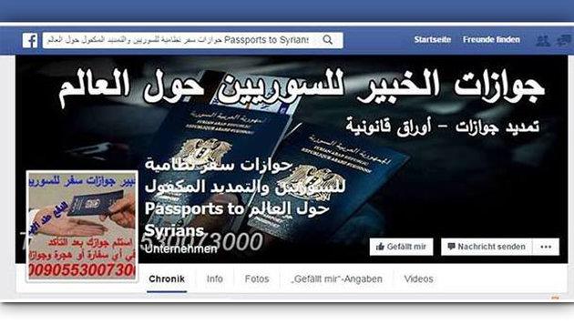 Aufregung um falsche Pässe für Asylwerber (Bild: facebook)