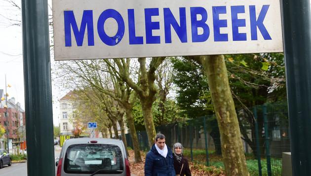 Der Brüsseler Stadteil Molenbeek gilt als Brutstätte und Gewächshaus des Islamismus. (Bild: AFP)