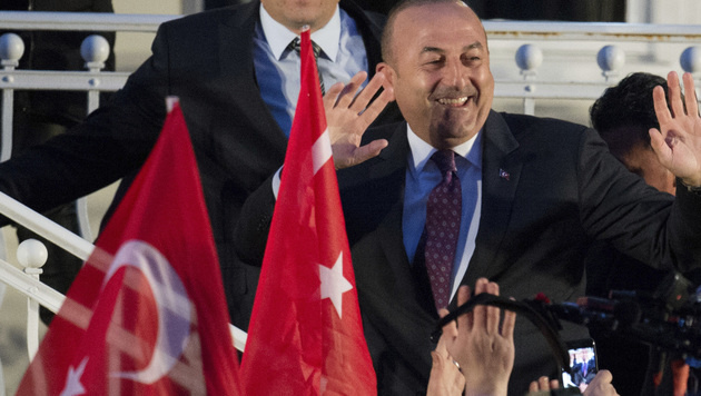 Mevlüt Cavusoglu (Bild: AFP)