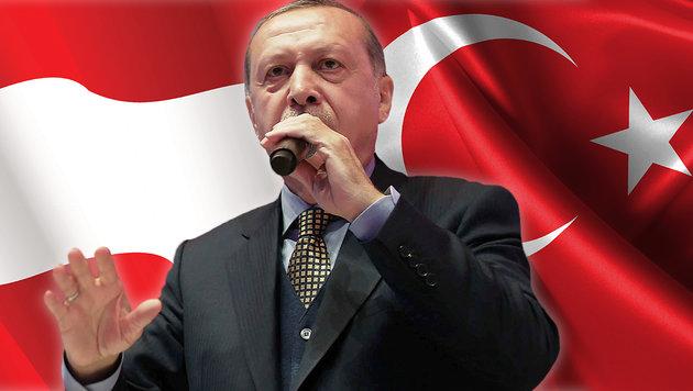 """Erdogan droht: """"Europa wird bald türkisch sein"""" (Bild: AP, thinkstockphotos.de)"""
