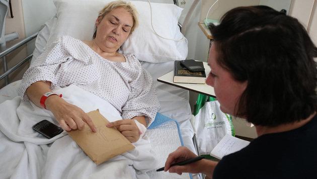 Ingrid T. musste zweimal am Knie operiert werden. (Bild: Zwefo)
