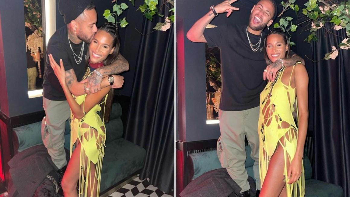 "I love you!"" - Neymar pisses off super model Cindy Bruna heartily - Vikendi"