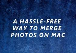 free way to merge photos on mac