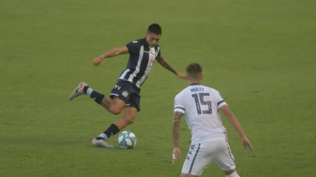 El Matador y su duelo ante Vélez por Copa Argentina. (Federido López Claro)