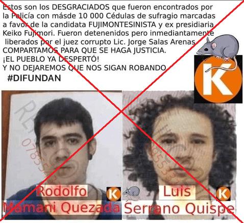 Luisito Comunica y AuronPlay son acusados de un supuesto fraude a favor de Keiko Fujimori - FOTO: Ojo Público