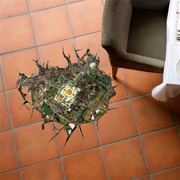 3D Floor Hole Decals