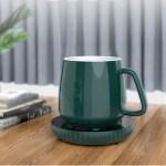 Στα €9.10 από αποθήκη Κίνας | Loskii A202 55℃ Constant Temperature Cup Heating Mat 18W Two Gear Digital Display Electric Tea Warmer 8H Automatic Power Off Protection for Home Office Travel