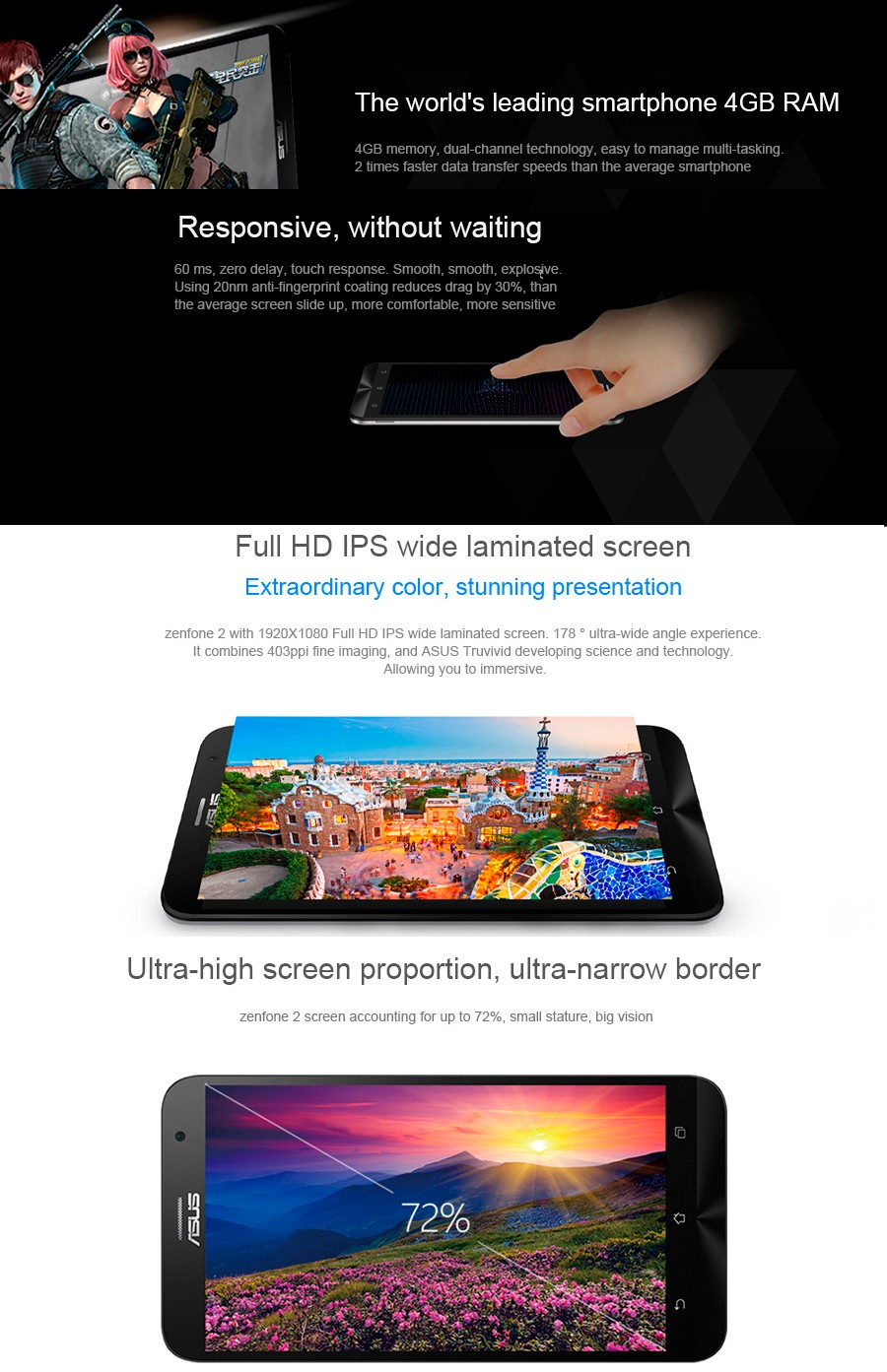 Tempat Jual Zenfone 2 Ram 2gb Terbaru 2018 Asus Ze550ml Lte 16gb Garansi Resmi Deluxe Ze551ml 55 Inch Rom 64bit Intel This Phone Will