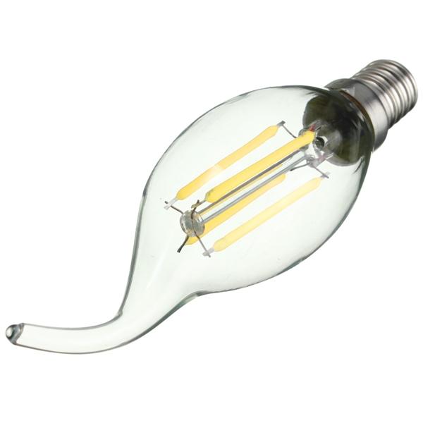 E14 LED 4W COB Edison Retro Filament Light WhiteWarm