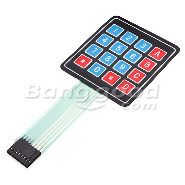 5Pcs 16Keys 4 x 4 SCM Matrix External Expansion Keyboard Contral Board 9