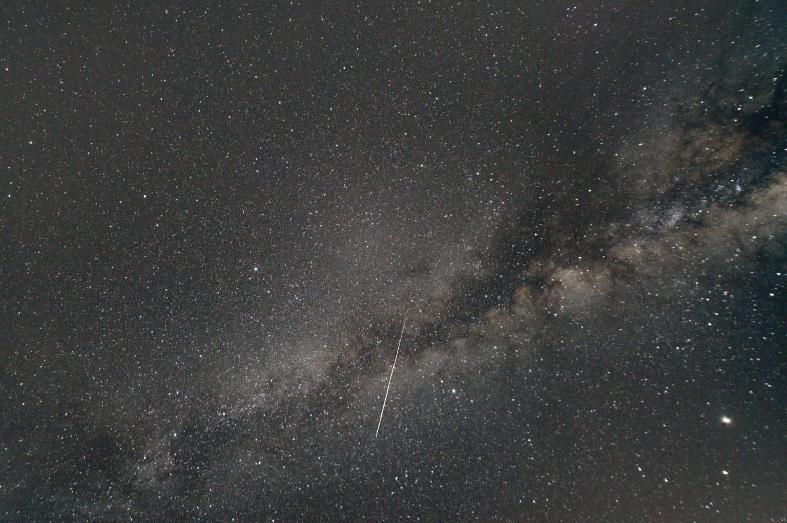 Cielos más estrellados por la reducción en contaminación por toque de queda