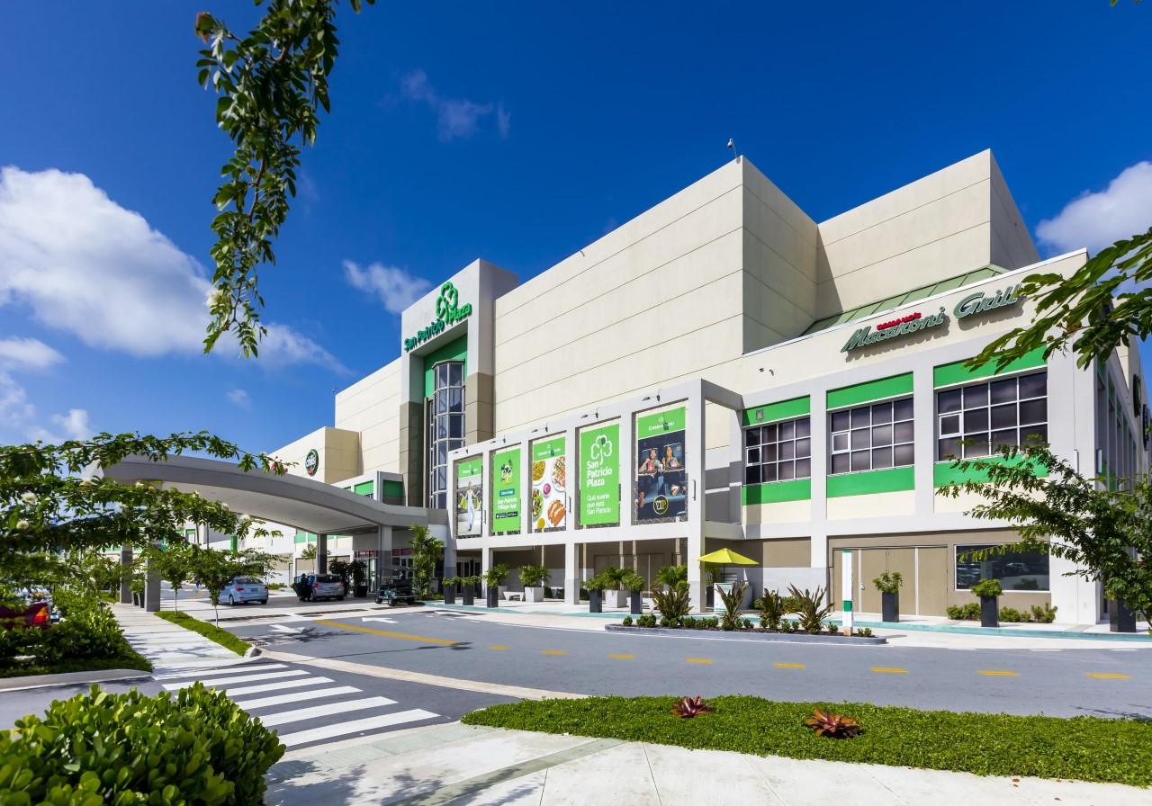 San Patricio Plaza listo para abrir el 1ro de junio