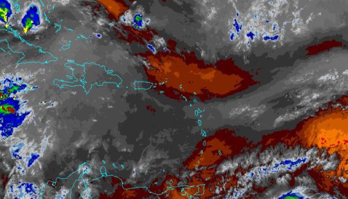 Pronostican actividad de lluvia para esta tarde