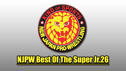 watch njpw best of the super Jr.26