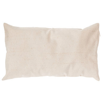 natural canvas pillow cover 12 x 20