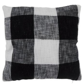 black white buffalo check knit pillow cover hobby lobby 1834365