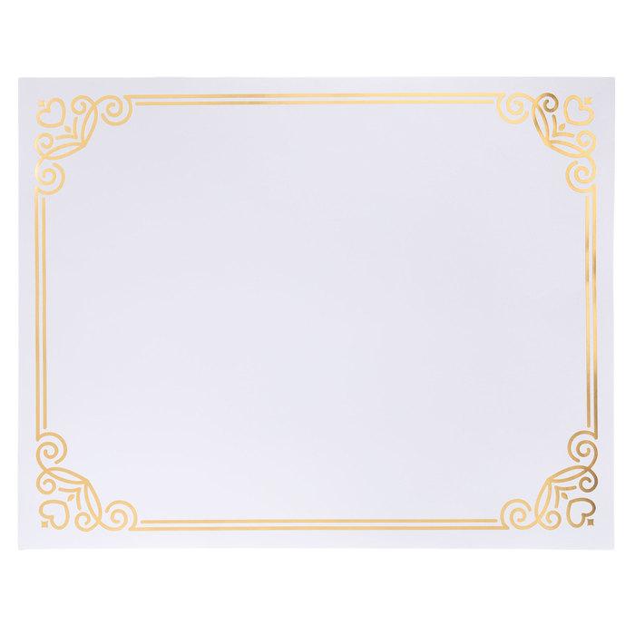 gold foil frame poster board 22 x 28 hobby lobby 1852201