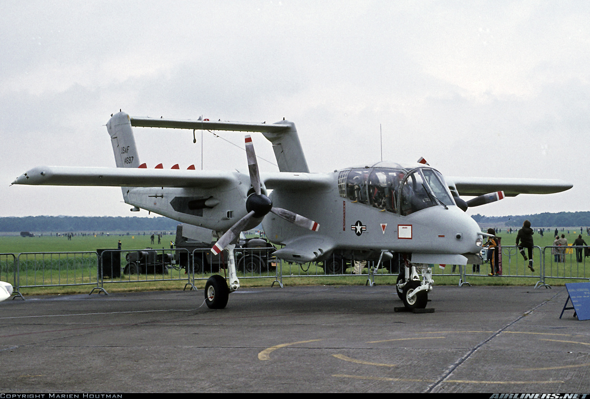 North American Rockwell OV 10A Bronco USA Air Force Aviation Photo 1686482