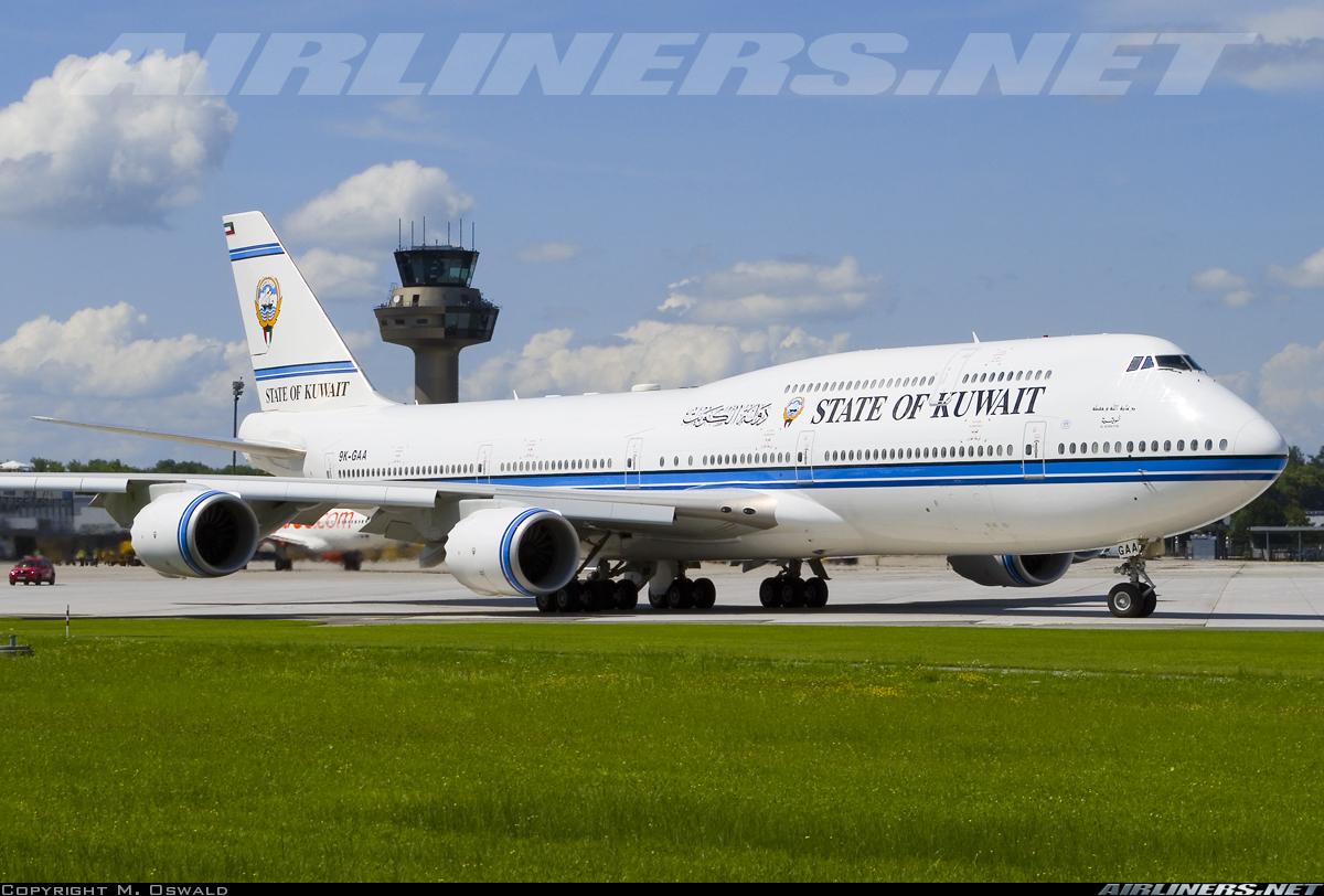 Boeing 747 8jk State Of Kuwait Aviation Photo 3907565