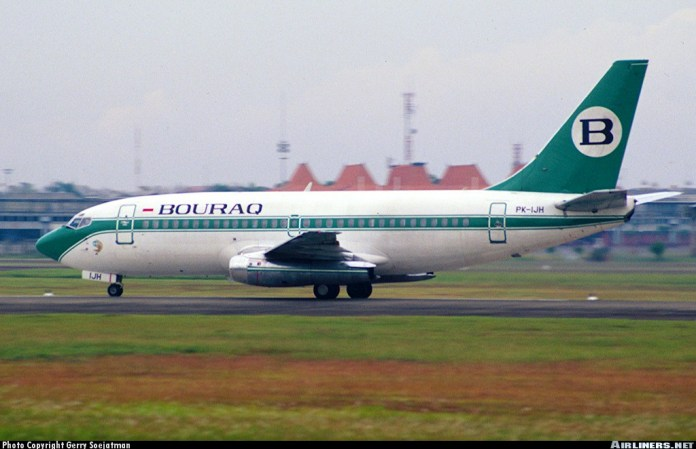 Boeing 737 2k2 Adv Bouraq Indonesia Airlines Aviation Photo 0139576 Airliners Net