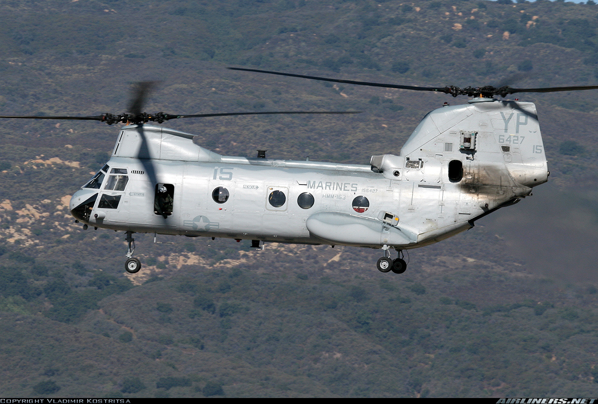 Boeing Vertol CH-46F Sea Knight (107-II)