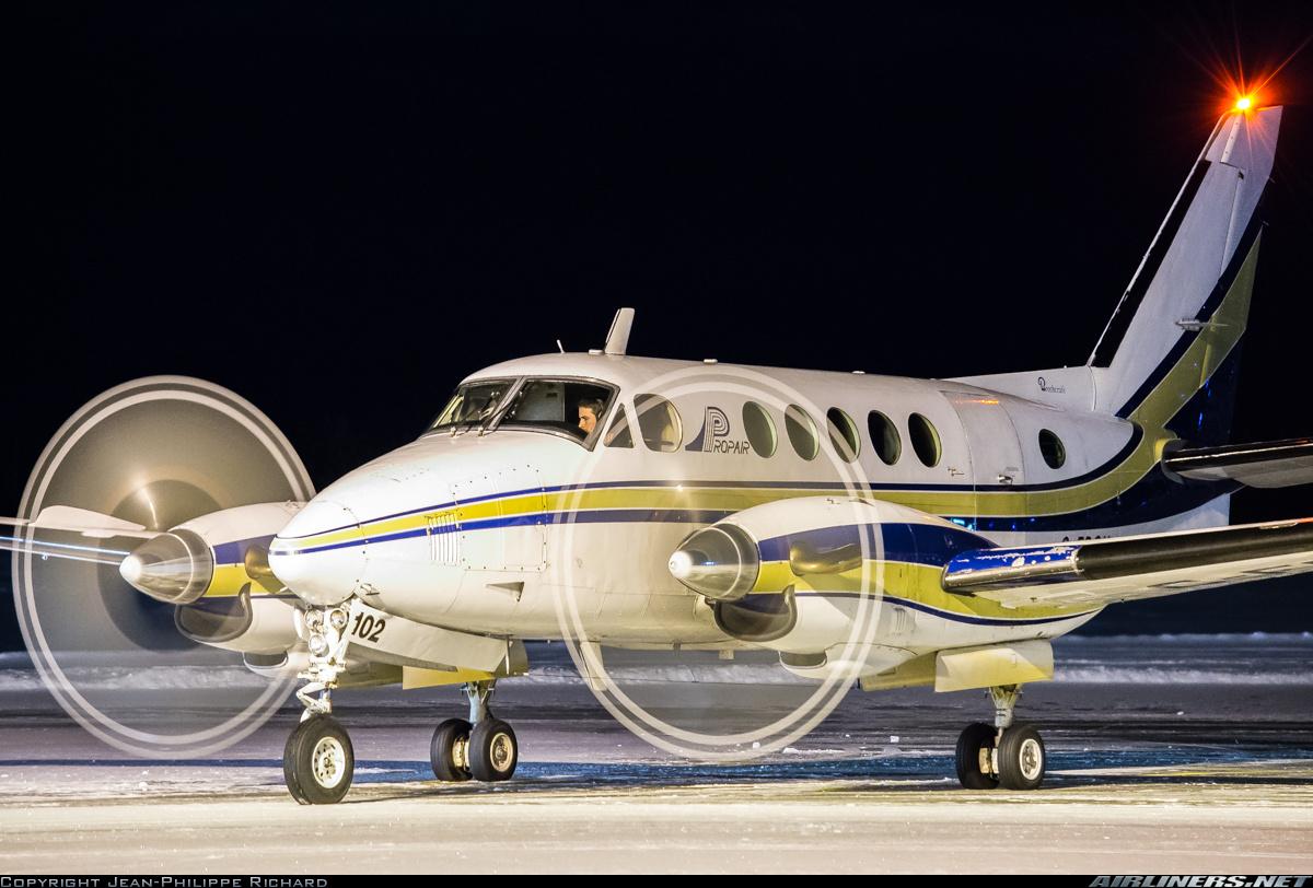 Beech A100 King Air  Propair | Aviation Photo #2810857