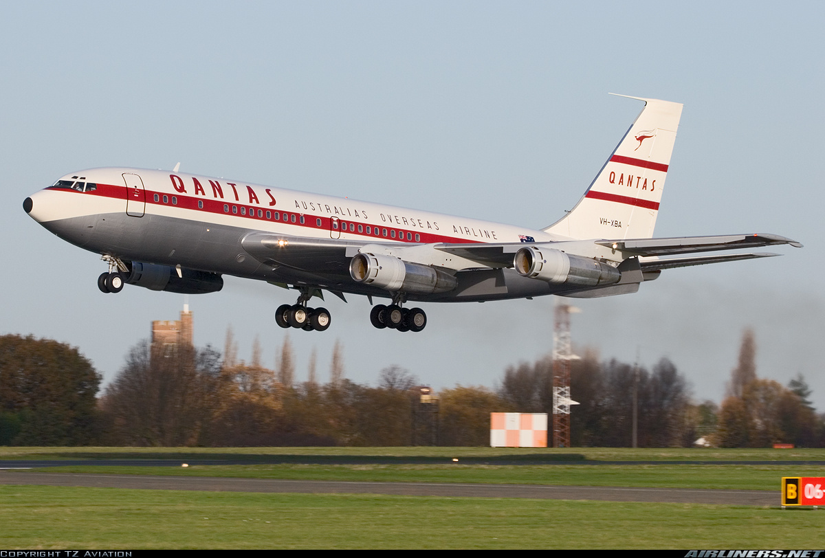 Resultado de imagen para boeing 707 qantas