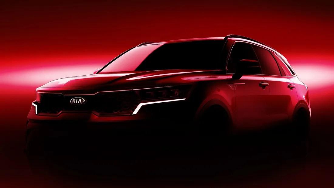Der neue Kia Sorento kommt mit Brennstoffzelle