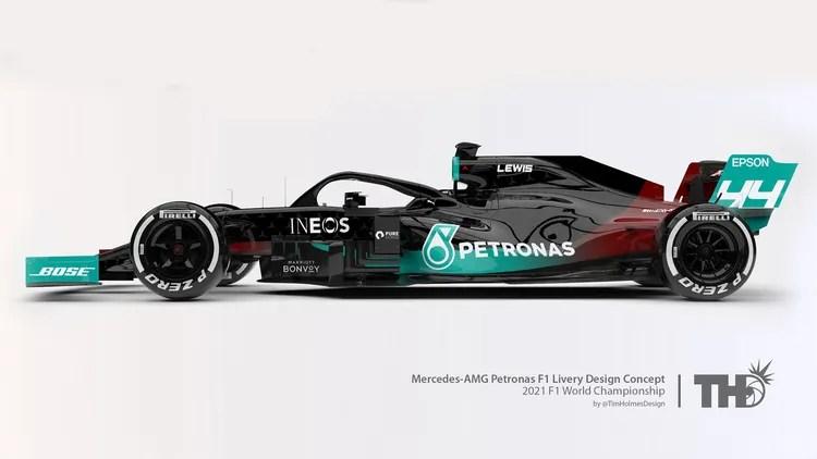 f1 design 2021 neuer look fur aktuelle