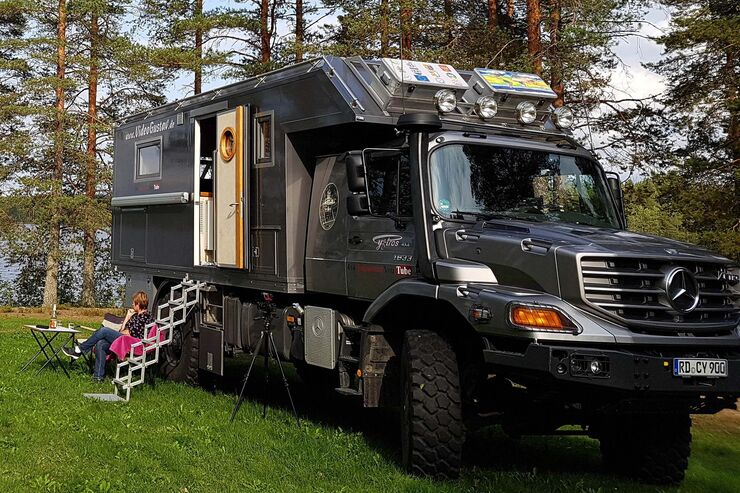 Mercedes Zetros 1833 4x4 Expeditionsmobil