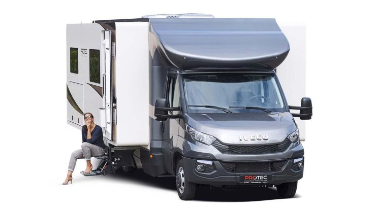 Wohnmobil Slide Out